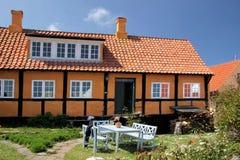 Idyllic country house on Bornholm Stock Photos