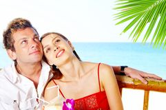 Idyllic couple Stock Images
