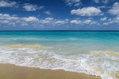 Relaxing day on the Atlantic. An idyllic day on the Atlantic Ocean, CUba, Varadero , no worries - complete relaxation Royalty Free Stock Image