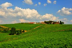 Idyllic day in Tuscany, Italy Royalty Free Stock Images
