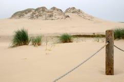 Idyllic dunes landscape Stock Photo