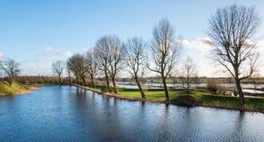Idyllic Dutch landscape Royalty Free Stock Photos