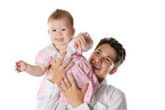 Idyllic family Stock Image