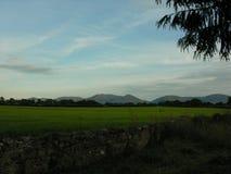 Idyllic farm land. Royalty Free Stock Image