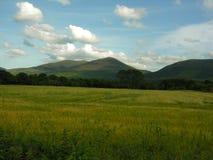 Idyllic farm land. Stock Photo