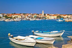 Idyllic fishermen village of Pakostane Stock Images