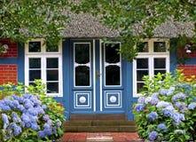 Idyllic frame house Stock Photography