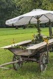 Idyllic garden bar Royalty Free Stock Images