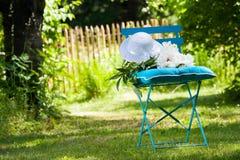 Idyllic garden Stock Images