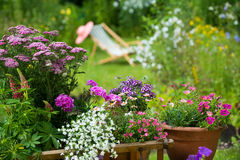 Idyllic garden Stock Photography
