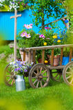 Idyllic garden Royalty Free Stock Photos