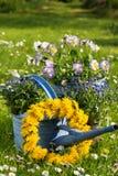 Idyllic garden Stock Photo
