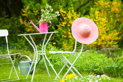 Idyllic garden Royalty Free Stock Images
