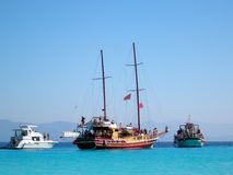 Idyllic Greece, Anti-Paxos, Greece Royalty Free Stock Photos