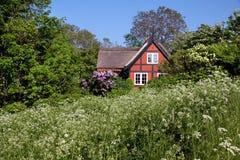 Idyllic holiday cottage Stock Photography