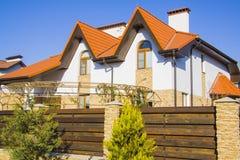 Idyllic house Stock Photography