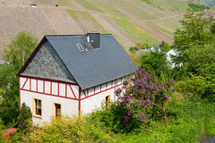 Idyllic house in Rhineland Germany Stock Photography