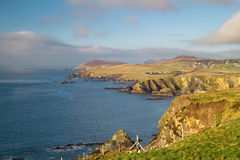 Idyllic irish coast scenery Royalty Free Stock Photography