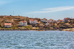 Idyllic island on the Swedish westcoast. Stock Photo