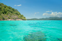 Idyllic Island Tranquil Bay in Phuket, Thailand Stock Photos