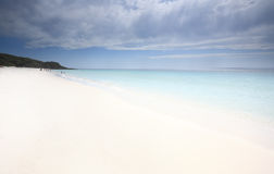 Idyllic Jervis Bay on a hot summer day Stock Image