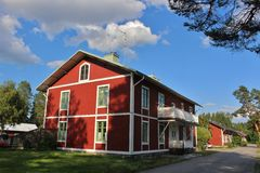 Idyllic in Karlsvik Stock Photo