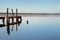 Idyllic lake Stock Images