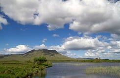 Idyllic lake scenery. Lake in Connemara Mountains - Ireland Royalty Free Stock Image