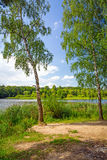 Idyllic lake scenery Stock Photography