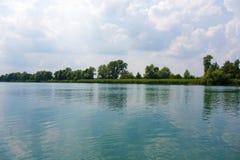 Idyllic lake Royalty Free Stock Image