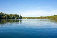 Idyllic lake Stock Photo