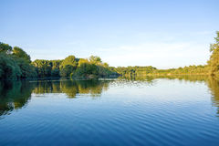 Idyllic lake Royalty Free Stock Photo