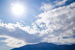 Idyllic landscape. A shot of Lake Como, Italy stock image