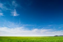 Idyllic landscape Royalty Free Stock Photography