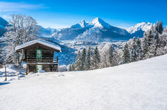 Idyllic landscape in the Bavarian Alps, Berchtesgaden, Germany Royalty Free Stock Image
