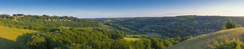 Idyllic landscape, Cotswolds, UK Stock Photos
