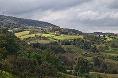 Idyllic landscape in croatia Stock Photo