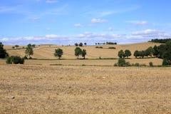 Idyllic landscape in Hessen, Germany Royalty Free Stock Photos