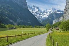 Idyllic landscape in Switzerland Stock Photography