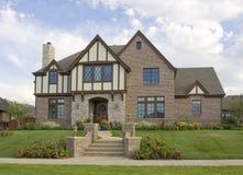 Idyllic Luxury Home Royalty Free Stock Photo