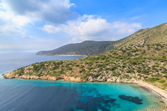 Idyllic Mediterranean sea in Datca during summer Stock Photo
