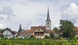 Idyllic Mittelbergheim Stock Images