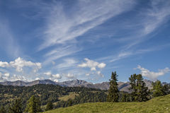 Idyllic mountain valley  Pfunds Stock Photo