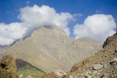 Idyllic Mountain Valley. Sunrise over mountain peak Northern area of Pakistan Royalty Free Stock Photos