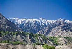 Idyllic Mountain Valley Stock Images
