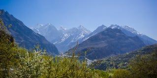 Idyllic Mountain Valley Stock Photos