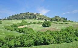 Idyllic Mountain Village,Tuscany,Italy Royalty Free Stock Image