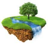 Idyllic natural landscape Stock Photo