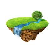 Idyllic natural landscape Stock Image