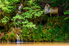 Water Mill - Idyllic Nera Gorges Royalty Free Stock Photography